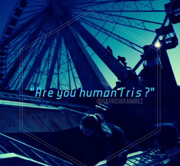 Are you human Tris? | Divergent | Pinterest
