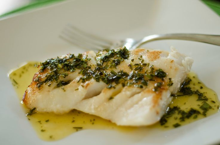 Organically Paleo: Alaskan Rockfish.White Balsamic Herbed Butter Reduction.