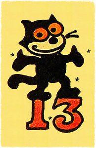 13 Felix Black Cat Sailor Jerry