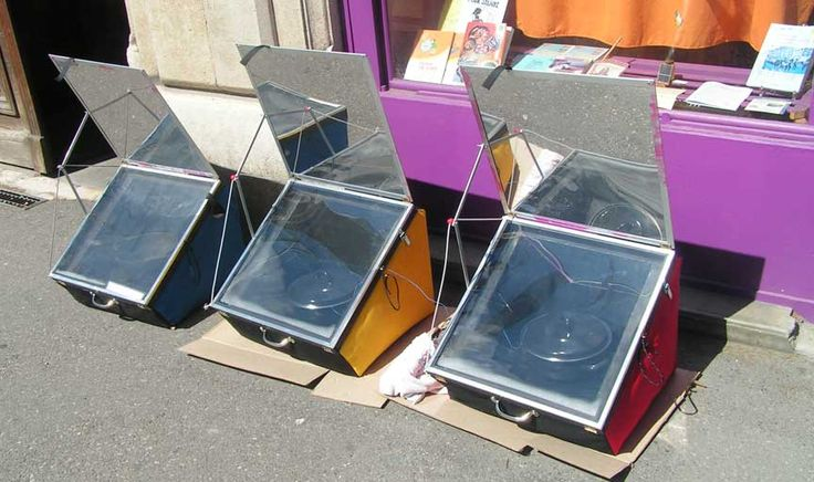 Solar Wall Oven