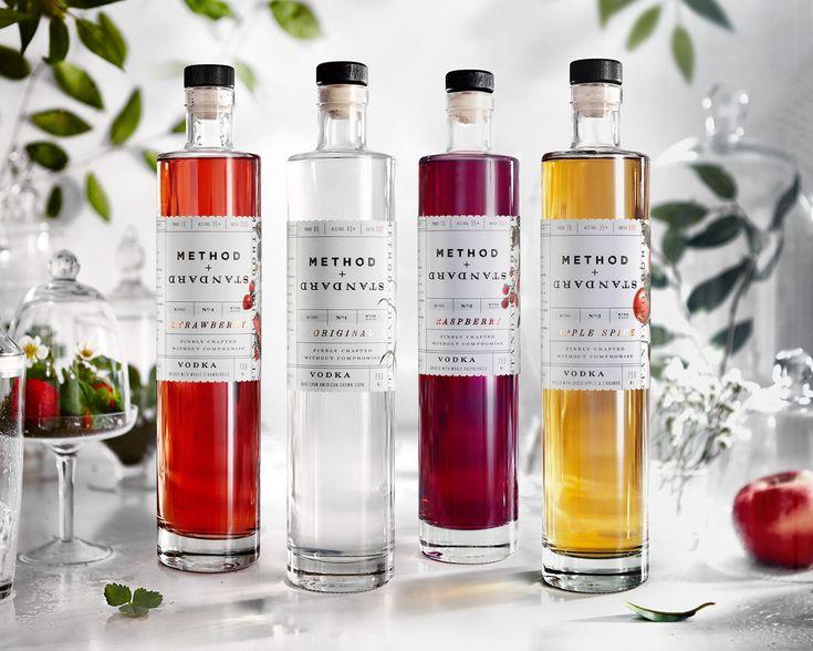 Method + Standard Vodka — The Dieline - Branding & Packaging