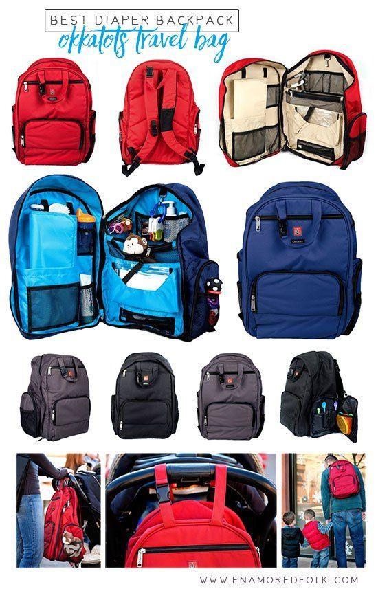 Best Diaper Backpack: Okkatot Travel Bag