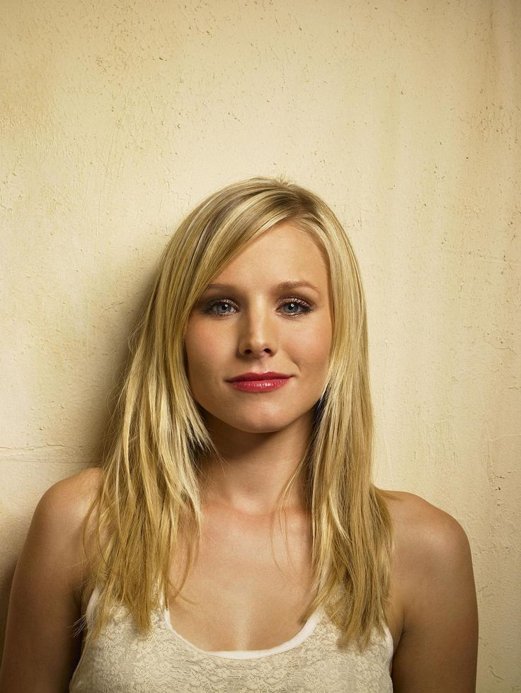 Kristen Bell, my much older look alike.