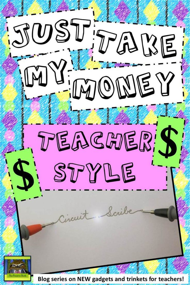 Just Take My Money Teacher Style Circuit Scribe Conductive Pen @ThePensiveSloth
