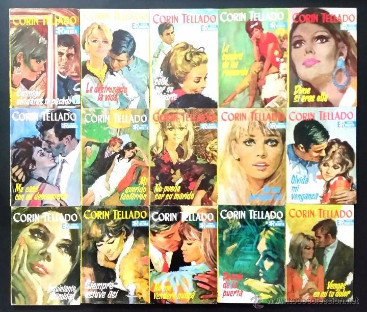 Libros de segunda mano: LOTE DE 176 NOVELAS ROMÁNTICAS CORIN TELLADO / SERIE-NOVELA INÉDITA / EDITORIAL ROLLAN / AÑOS 60-70 - Foto 7 - 53141537