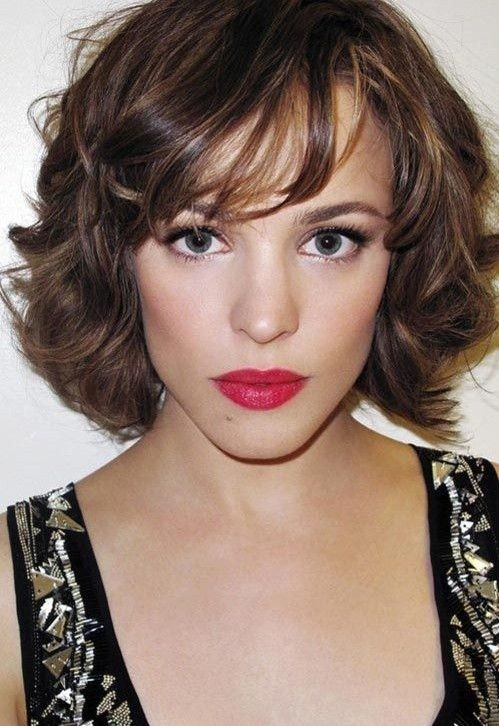 Two Toned Hair 2014 - Short Wavy Hairstyle