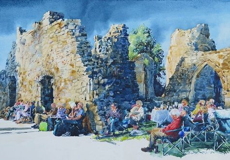 Chris Myers - A Little Night Music in the Evening. Bayham Abbey