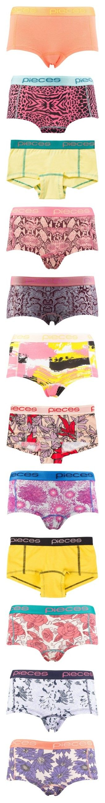 """""""Lady Boxers"""" by xoxominyeol ❤ liked on Polyvore featuring intimates, panties, briefs, coral, underwear, womens-fashion, underwear boxers, underwear thong, short boxers and hot pink"""
