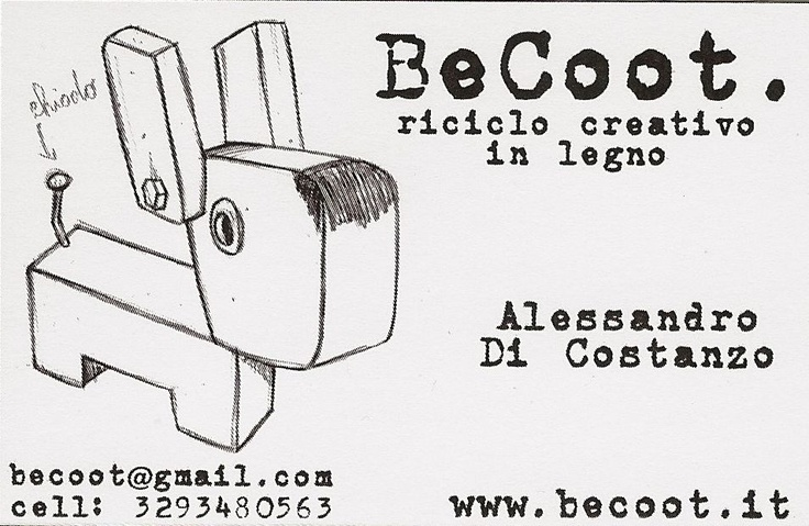 BeCoot - Riciclo creativo in legno