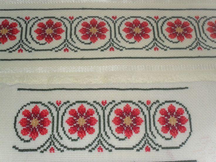 bordados en punto de cruz, toallas personalizadas.