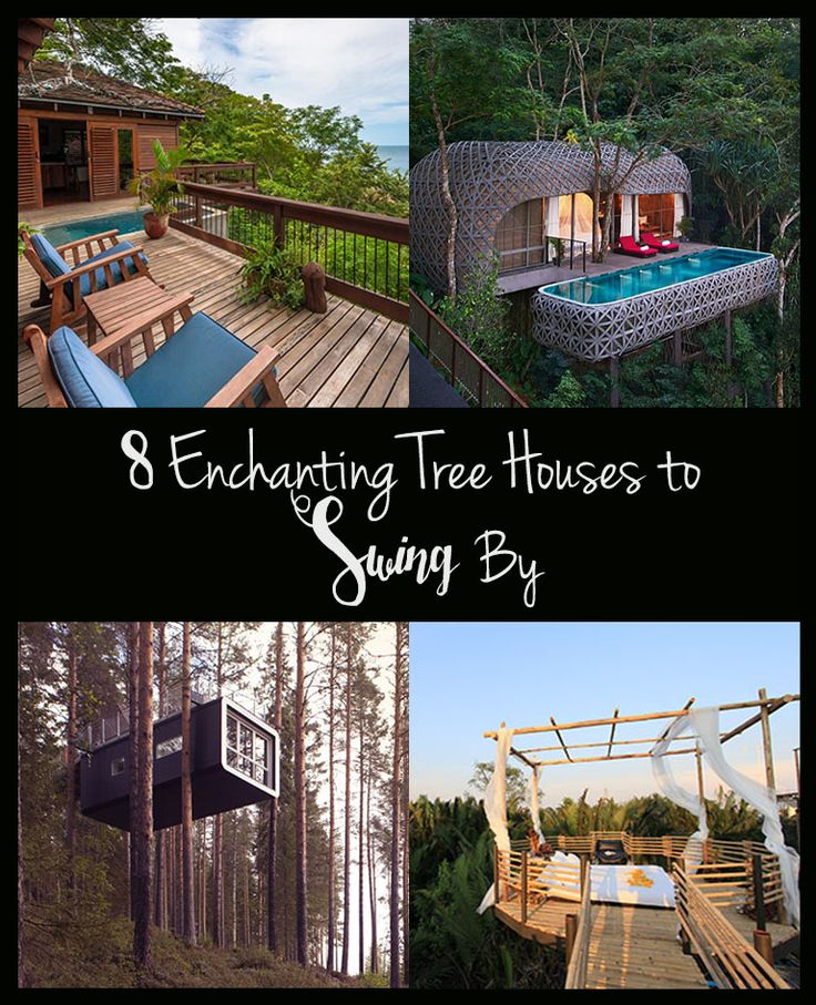 Enchanting Tree Houses - This Epic World