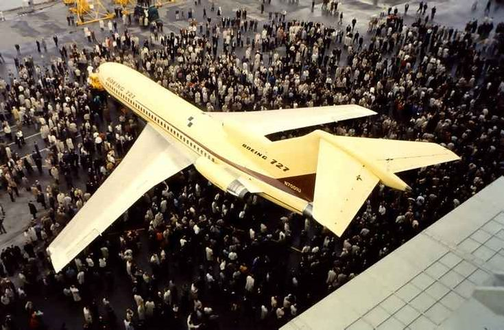 More than 27 years after it was gifted to the Museum of Flight, the first Boeing 727 is still being restored at the museum's Restoration Center at Paine Field in preparation for its last flight down to Boeing Field