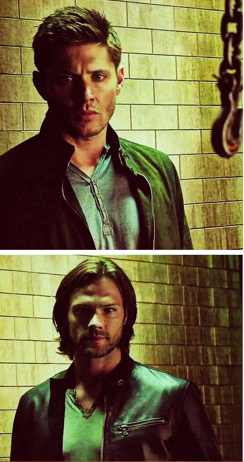 Season 9 promo. Jared is mutch hotter in leather jacket. Could we buy him one pleeeease?