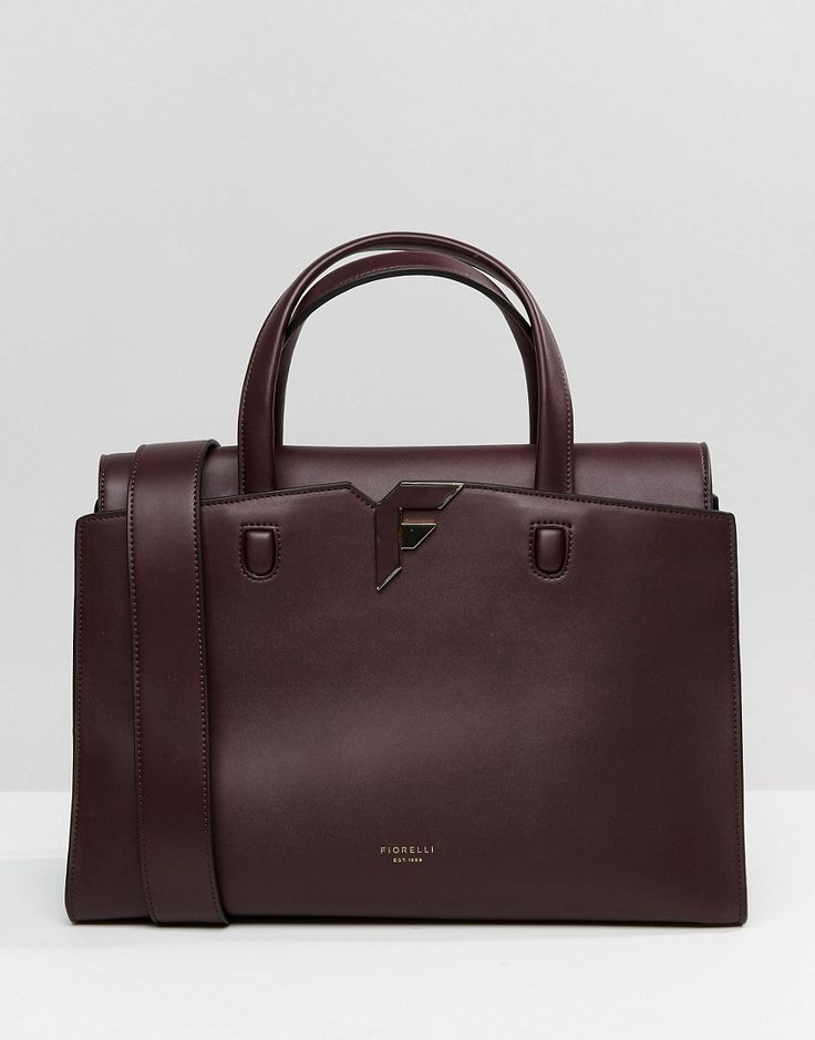 Image 1 of Fiorelli Brompton Tote Bag in Aubergine