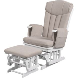 Kub Chatsworth Glider Nursing Chair and Stool - Cappuccino Cushion  sc 1 st  Pinterest & Best 25+ Nursing chair uk ideas on Pinterest | Uk shop T mobile ... islam-shia.org