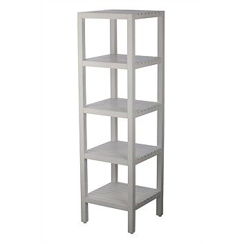 Tables - Briscoes - Lille Shelf 5 Tier White