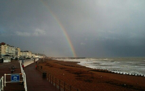 Seaside rainbow