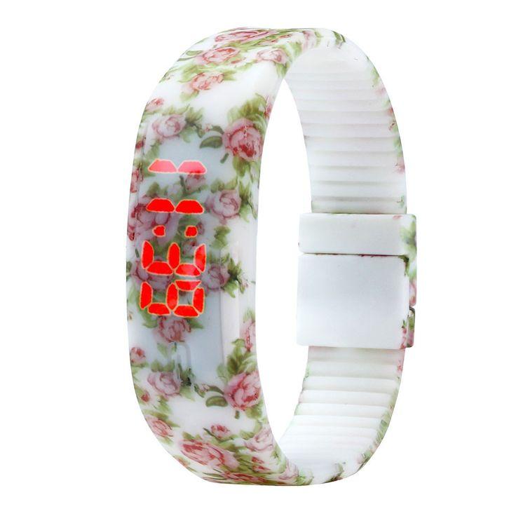 Rubber LED Watches //Price: $8.97 & FREE Shipping //     #watchnerd #watchgeek #wristshot