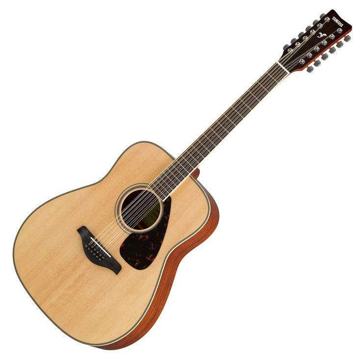 Yamaha FG820-12 12 String Folk Acoustic Guitar