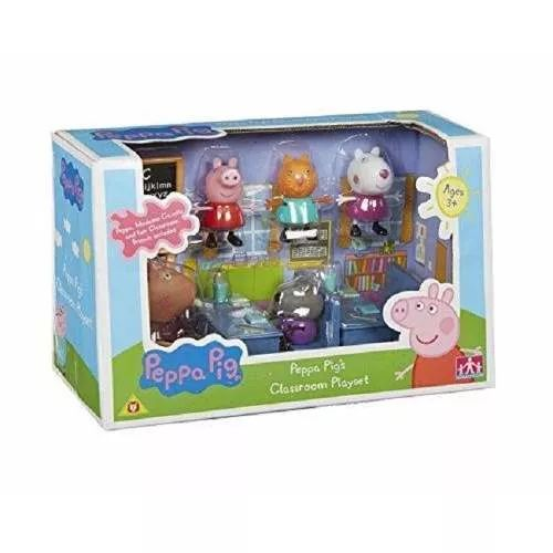 Peppa Pig Aula De Estudio ( Escuela) Bunny Toys - $ 799,99