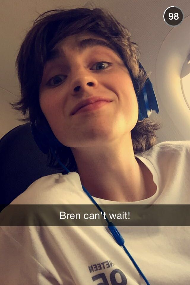"""Brendan can't wait"". #hometown#brendanmurray"