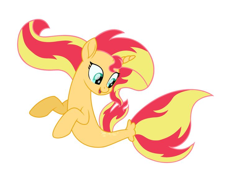 MLP The Movie Sunset Shimmer as Merpony by SunsetShimmer1987