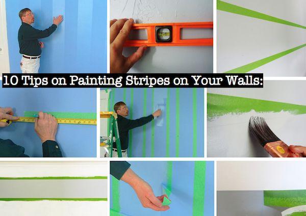 technique strip painting
