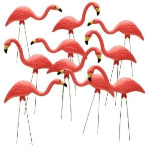 27 in. Pink Flamingo (10-Pack), changed at The Home Depot - Mobile