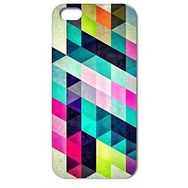 Colorful Diamond Puzzle patrón duro caso para iPhone 4/4S – USD $ 1.99
