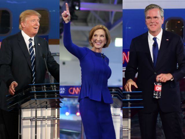 ***Live Updates*** 11 GOP Presidential Candidates Debate in Main Event - Breitbart