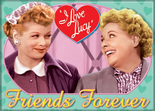 I Love Lucy Friends Forever Magnet | LucyStore.com