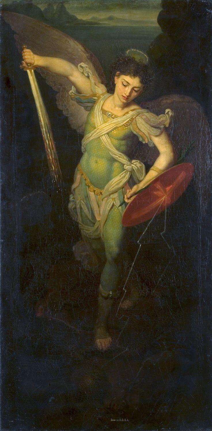 Vladimir Borovikovsky - Archangel Michael (1815)