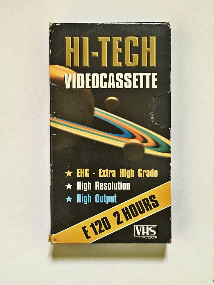 Hi-Tech Videocassette front