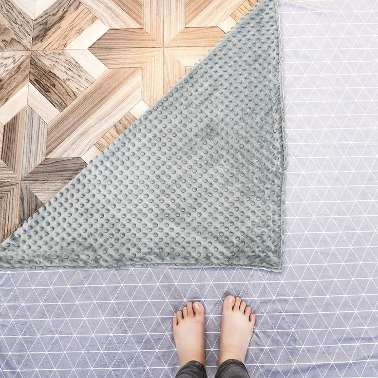Weighted Blanket // Minky Cover + Cotton Inner Weight