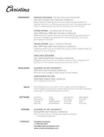 26 best CV images on Pinterest Design resume, Resume design and - visually appealing resume