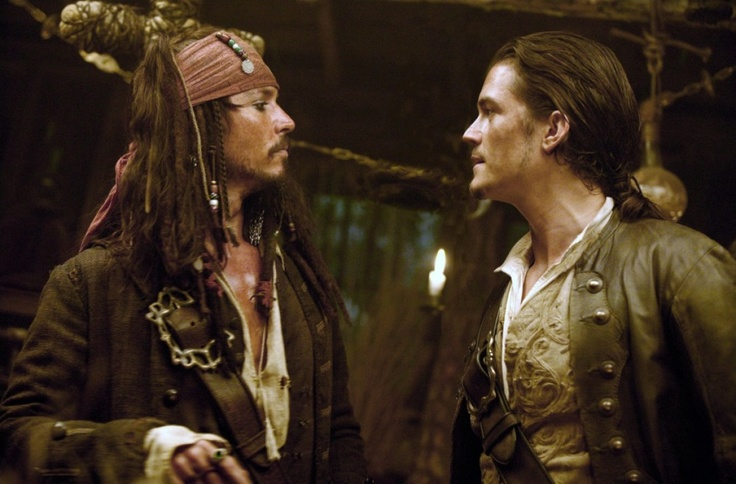Pirates des Caraïbes : le secret du coffre maudit - Orlando Bloom - Johnny Depp