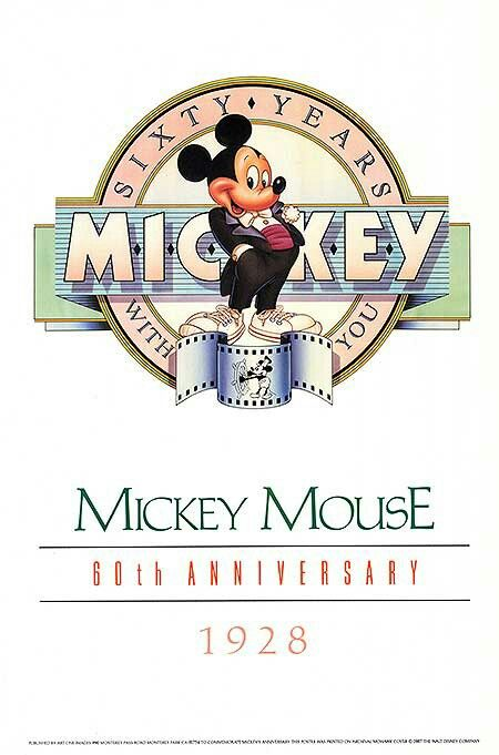 ❤Sixty yearsMickey Mouse❤