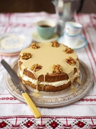 Treat for Mum: The best coffee & walnut cake | Jamie Oliver