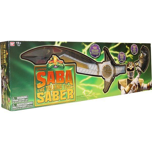 DX  Legacy Saba Sword - Bandai - Rangez-vous du côté des forces du Bien, avec cette épée Saba Sword Power Rangers Mighty Morphin Legacy ! Cette réplique hautement détaillée ressemble en tous points à celle vue dans la série télé originale Mighty Morphin. #PowerRangers #Jouet #Enfants #Bandai