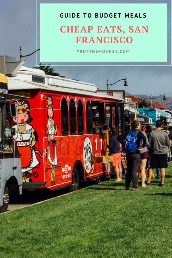 Cheap eats in San Francisco, California USA is the only guide recommended by a local that you will need for budget dining in this Uber expensive city. Over a dozen ideas to dine at unbelievably budget prices!