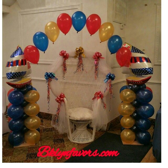 1000 images about nautical naval on pinterest sailor for Anchor balloon decoration