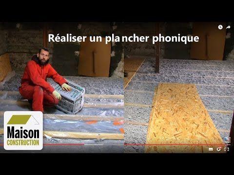 Isolation phonique plancher neuf ou rénovation - YouTube