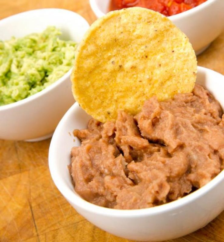 Refried bean dip recipe from the authentic mexican kitchen for Traditional mexican kitchen
