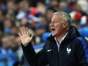 Didier Deschamps möchte mit Frankreich ins Finale einziehen. Foto: Srdjan Suki