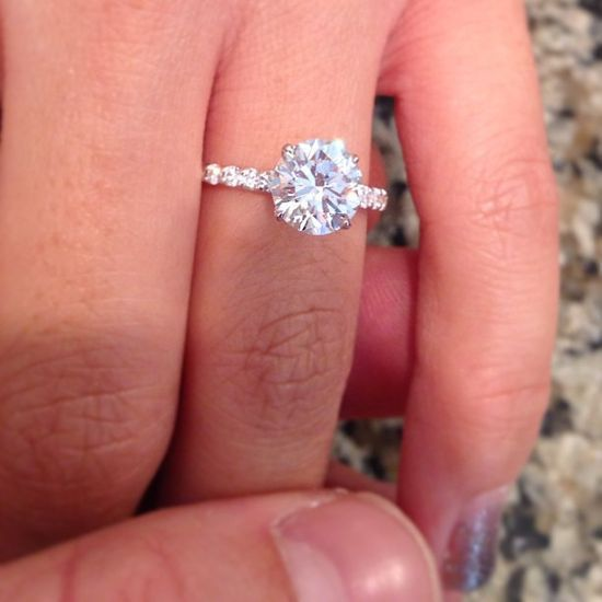 Engagement Rings 2017  Holy cow that is BEAUTIFUL!! And would look better with a pink camo band!;)