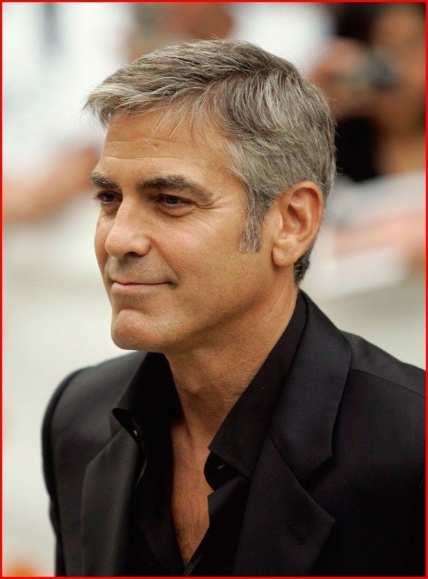 George Clooney Hairstyle 2018 George Clooney Haircut Mens Messy