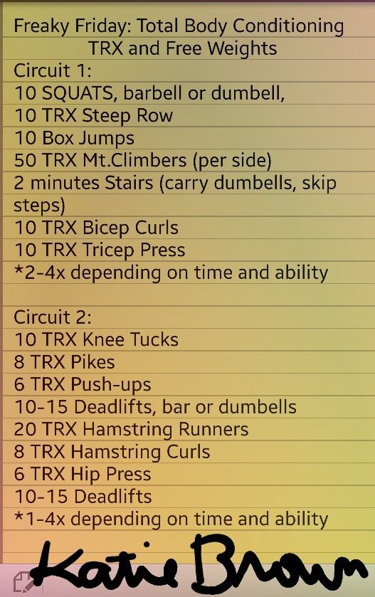 Many of the TRX exercises can be done with another piece ...