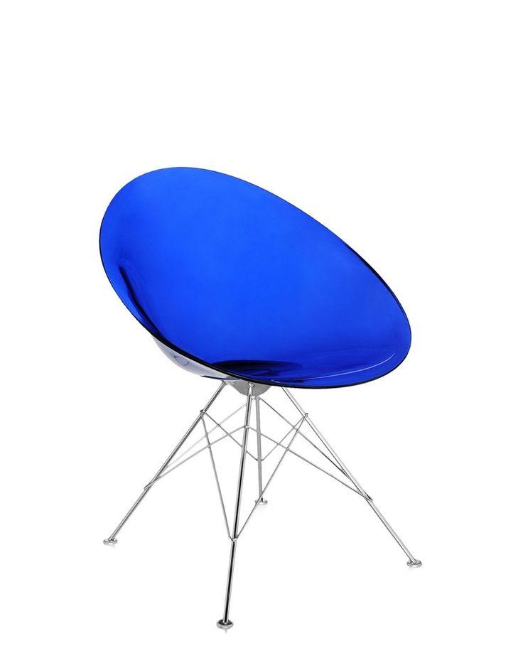 チェア ERO/S/ By Kartell デザイン: Philippe Starck