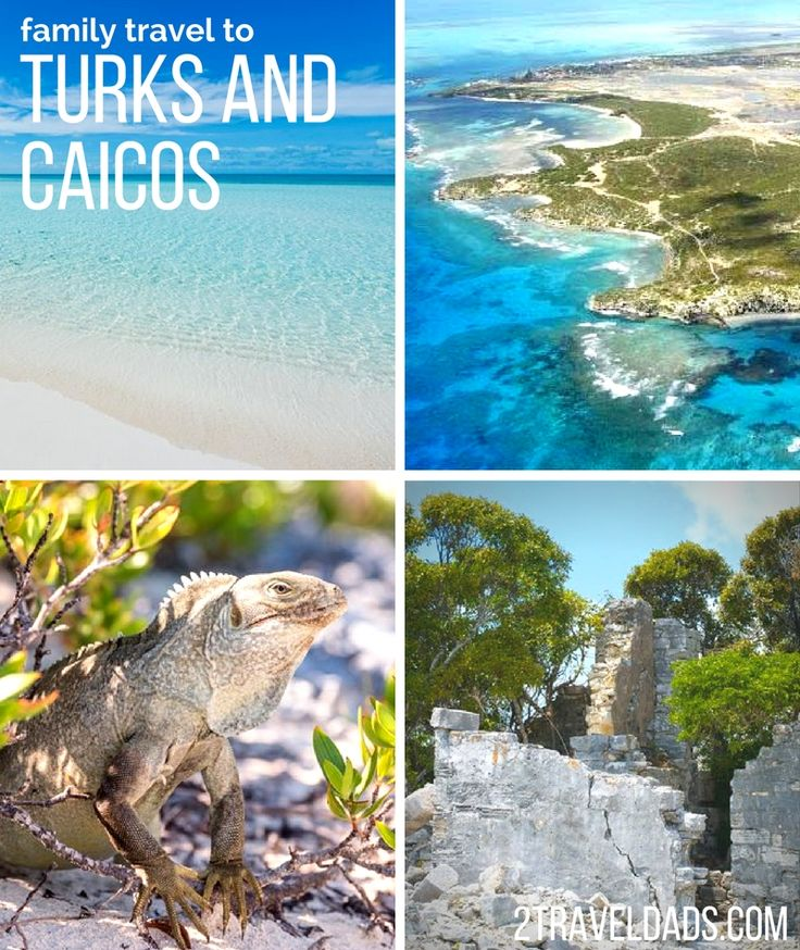 Family travel to Turks and Caicos is a dream Caribbean trip with wildlife, snorkeling, perfect beaches and national parks read for exploring. 2traveldads.com