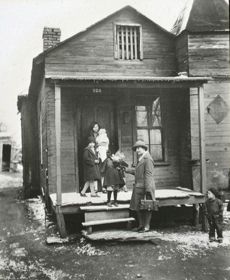 1918 Nashville Capitol Hill Neighborhood With Visiting Nurse